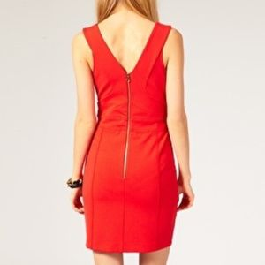 Ted Baker Sheath Red Mini Dress